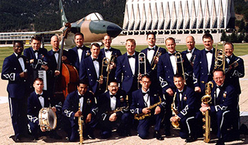 U.S. Air Force Academy Band, stationed in Colorado Springs, CO